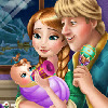 Anna and Kristoff First Child